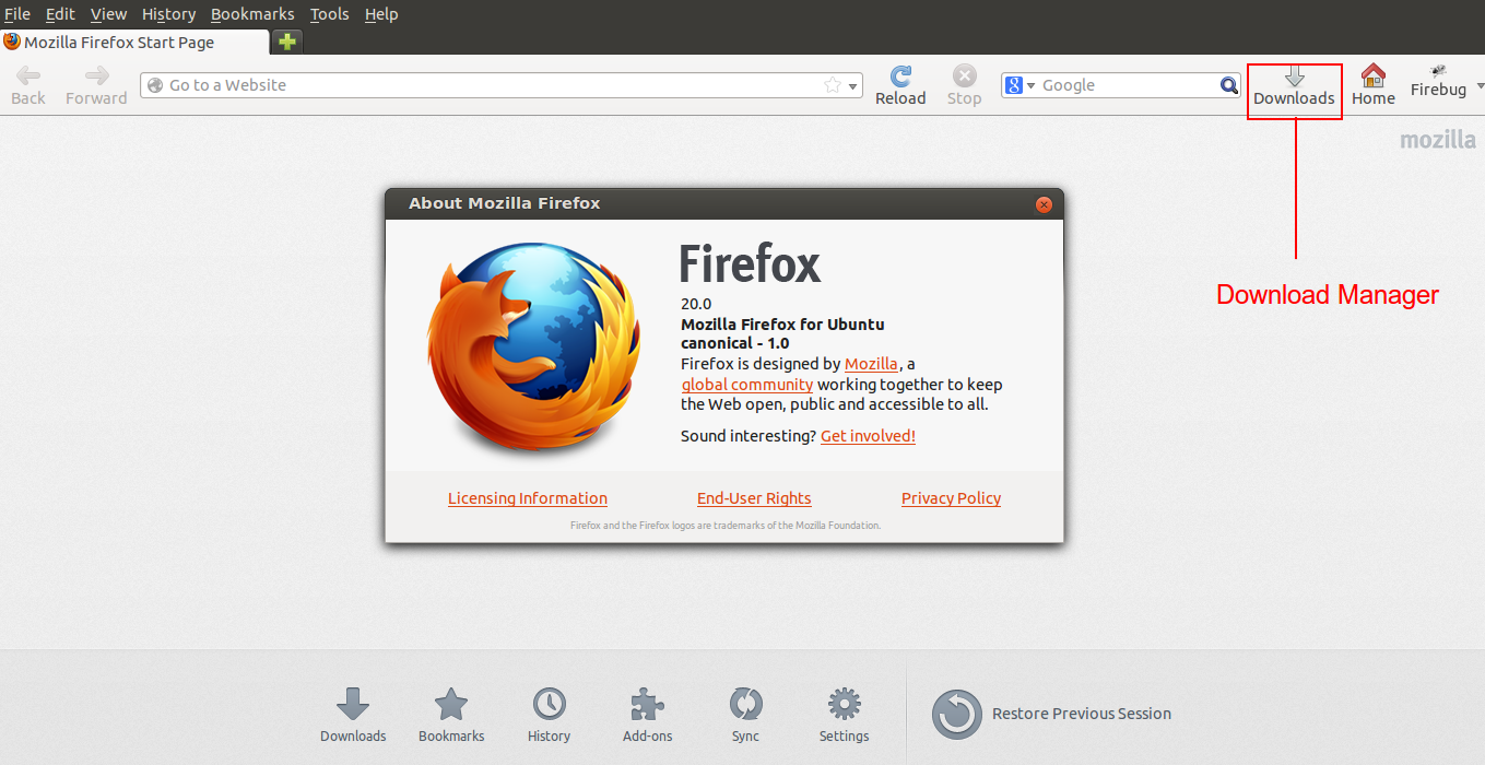Firefox 20 Released with Per-window Private Browsing Feature! Install it in Ubuntu/Linux Mint   It's All About Linux