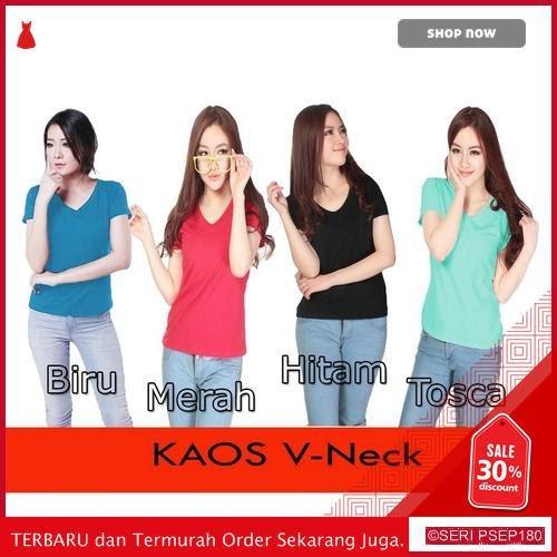 ION596 KAOS VNECK TANGAN PENDEK | BMGShop