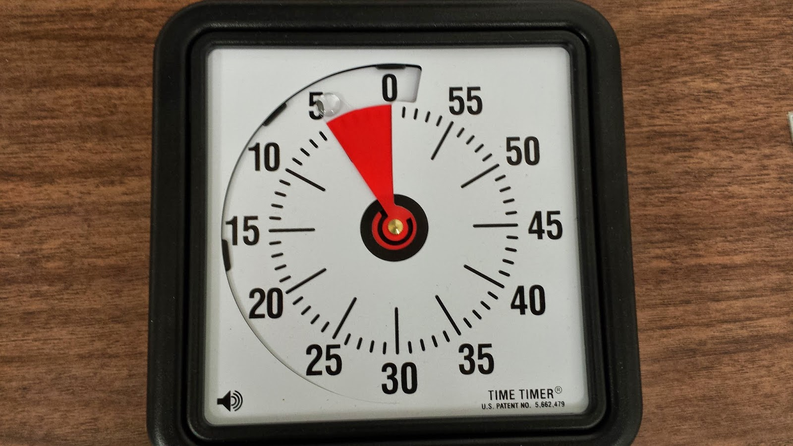 photo of timer
