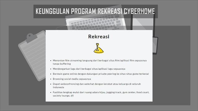Keunggulan Program Rekreasi Cyberhome