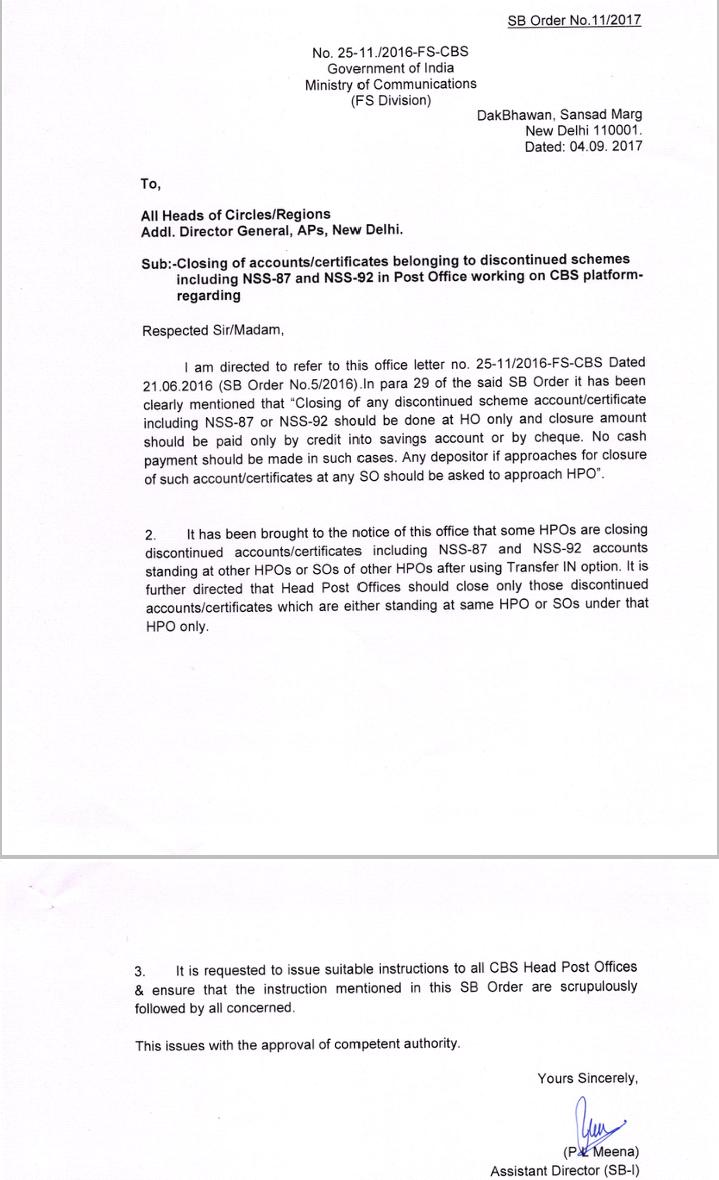 Sb order 112017 closing of accounts certificates belonging to share altavistaventures Gallery