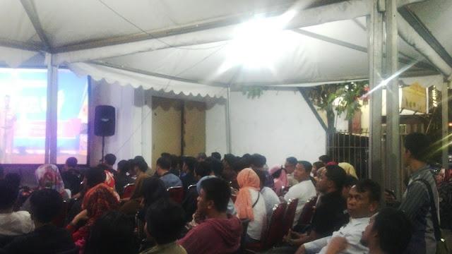 Najwa Shihab dan Gibran Rakabuming Resmikan Pojok Baca di Makassar