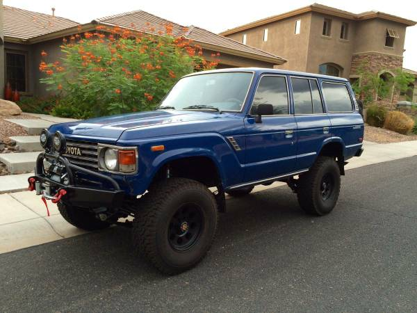 Beautiful Beast, 1987 Land Cruiser FJ60