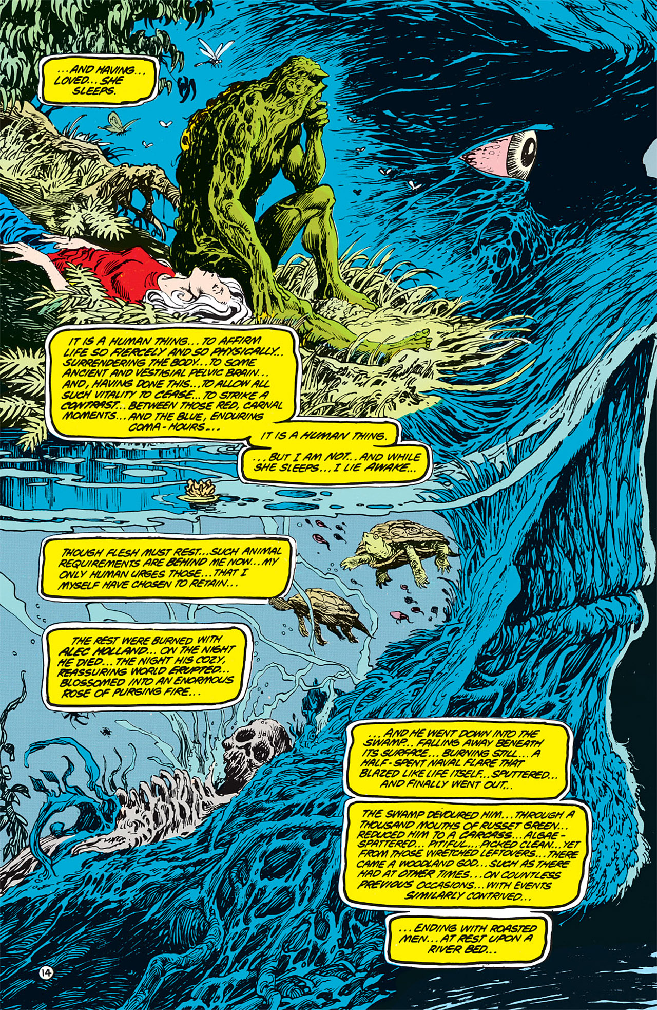 Swamp Thing (1982) Issue #64 #72 - English 15
