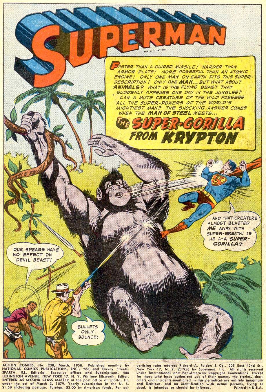 Read online Action Comics (1938) comic -  Issue #238 - 3