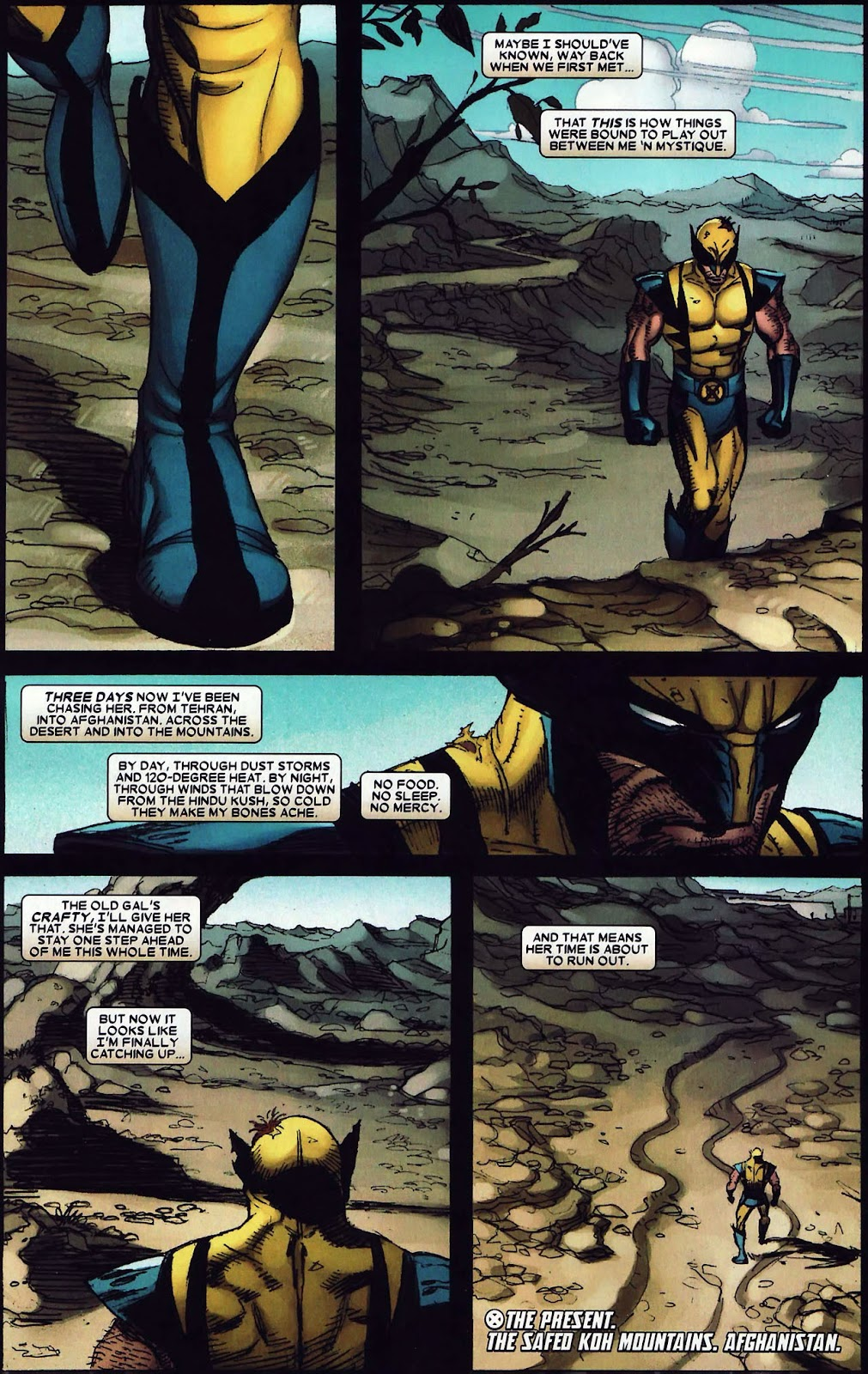 Read online Wolverine (2003) comic -  Issue #62 - 21