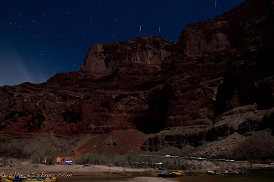 Just another evening in the ditch, Grand Canyon of the colorado river, Chris Baer