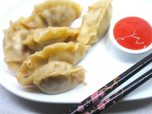 Beef and Shrimp Pot sticker