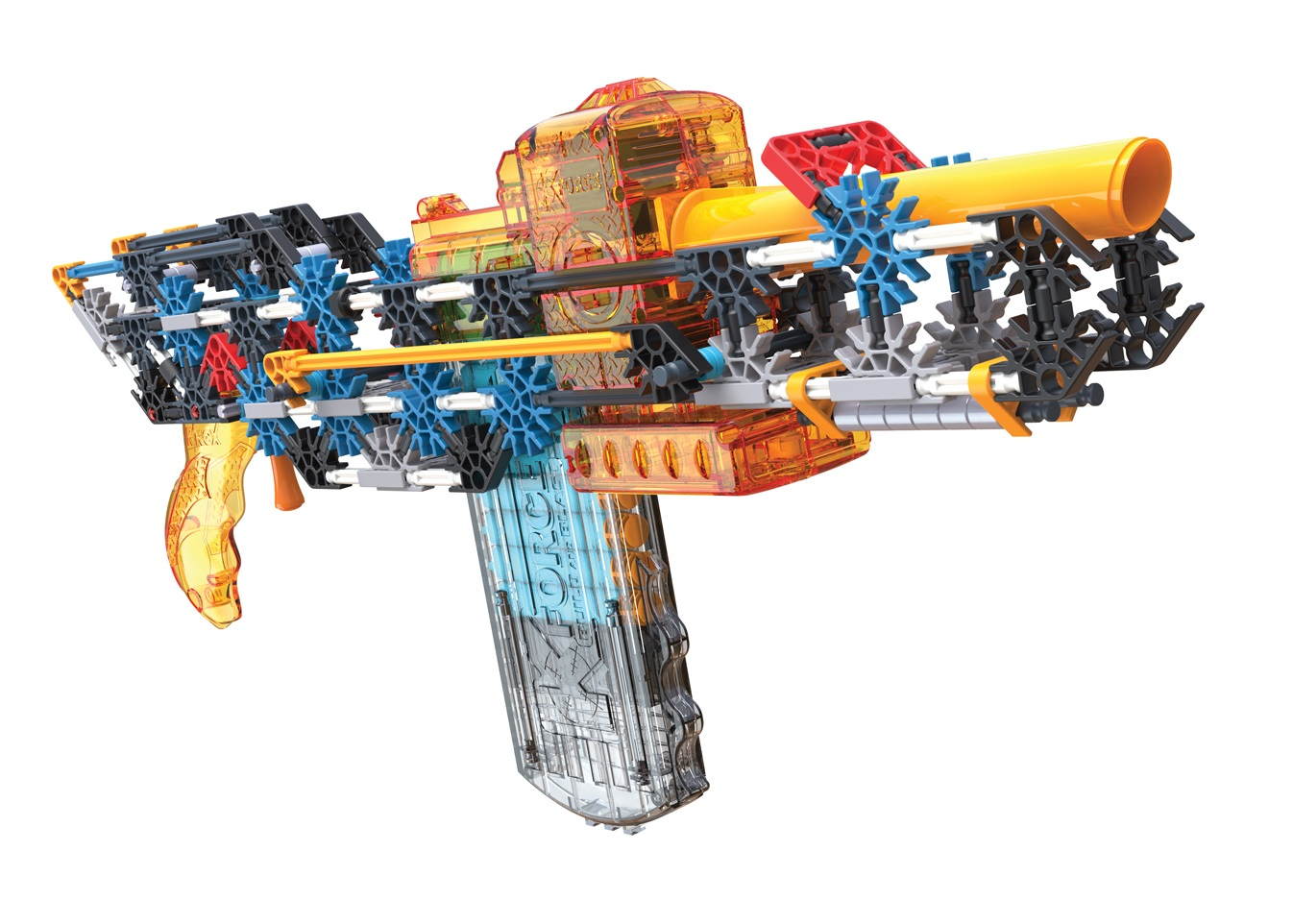 REVIEW: K'NEX K-Force Flash Fire Blaster   The Test Pit