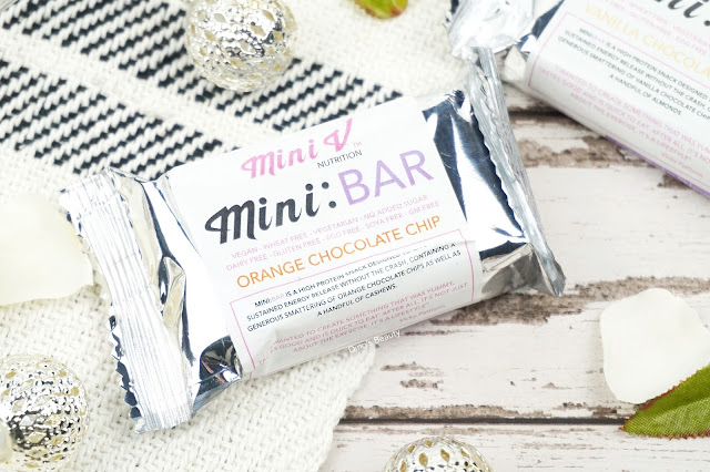 Dino's Beauty - Fitness Fridays - Mini V Nutrition - 'Mini:Bar' Protein Bars Review*