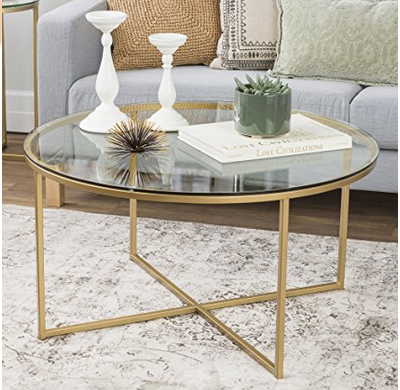 Bring a Luxurious Touch with Gold Coffee Table All About Coffee