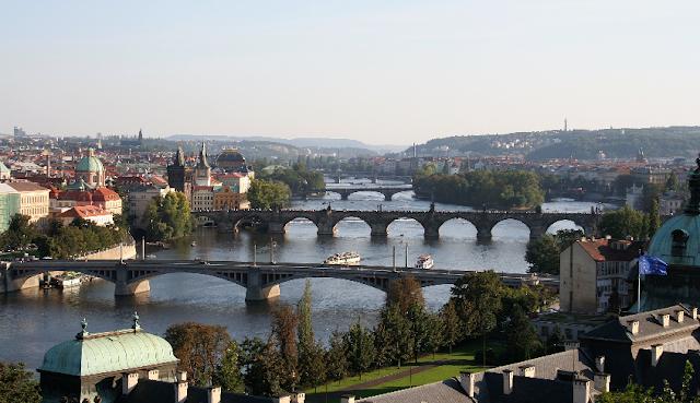 Cidade de Praga na República Checa