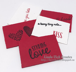 Linda Vich Creates: January Stamping Projects with A Modified Use of the Balloon Pop-Up Framelits. The Baker's Box Thinlits are used to create a Sending Love Valentine Mailbox.