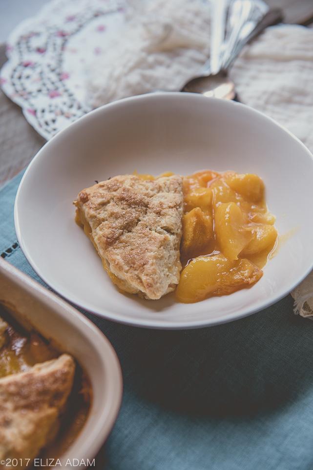 Peach Cobbler Yellow Cake Mix Butter