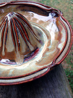 Pottery Juicer by Lori Buff