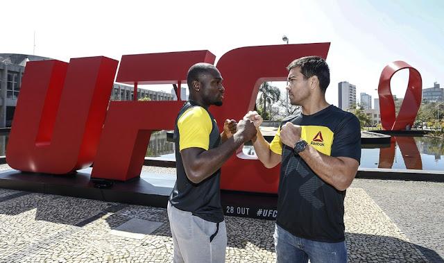 UFC SP desse sábado com o perfil de Derel Brunson e Lyota Machida