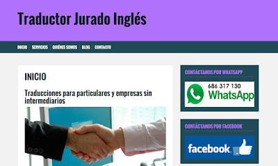 Traductor jurado ingles