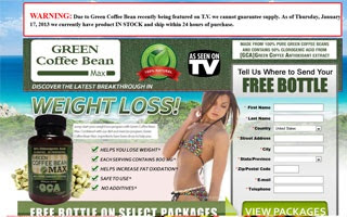 Green Coffee Bean Max Extract For Rapid Weight Loss -2018