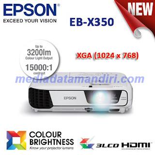 Jual Proyektor Seminar . EPSON Projector EB-X350