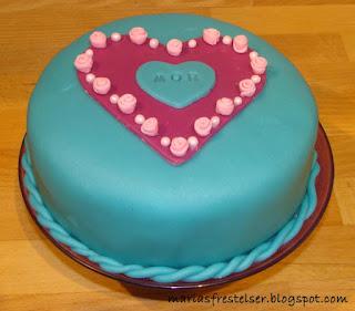 Mors dag tårta