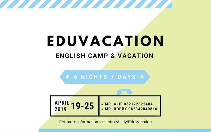 Pendaftaran Kursus Bahasa Inggris Program Eduvacation | Escaper English