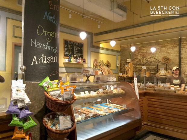 Chelsea Market Nueva York panadería