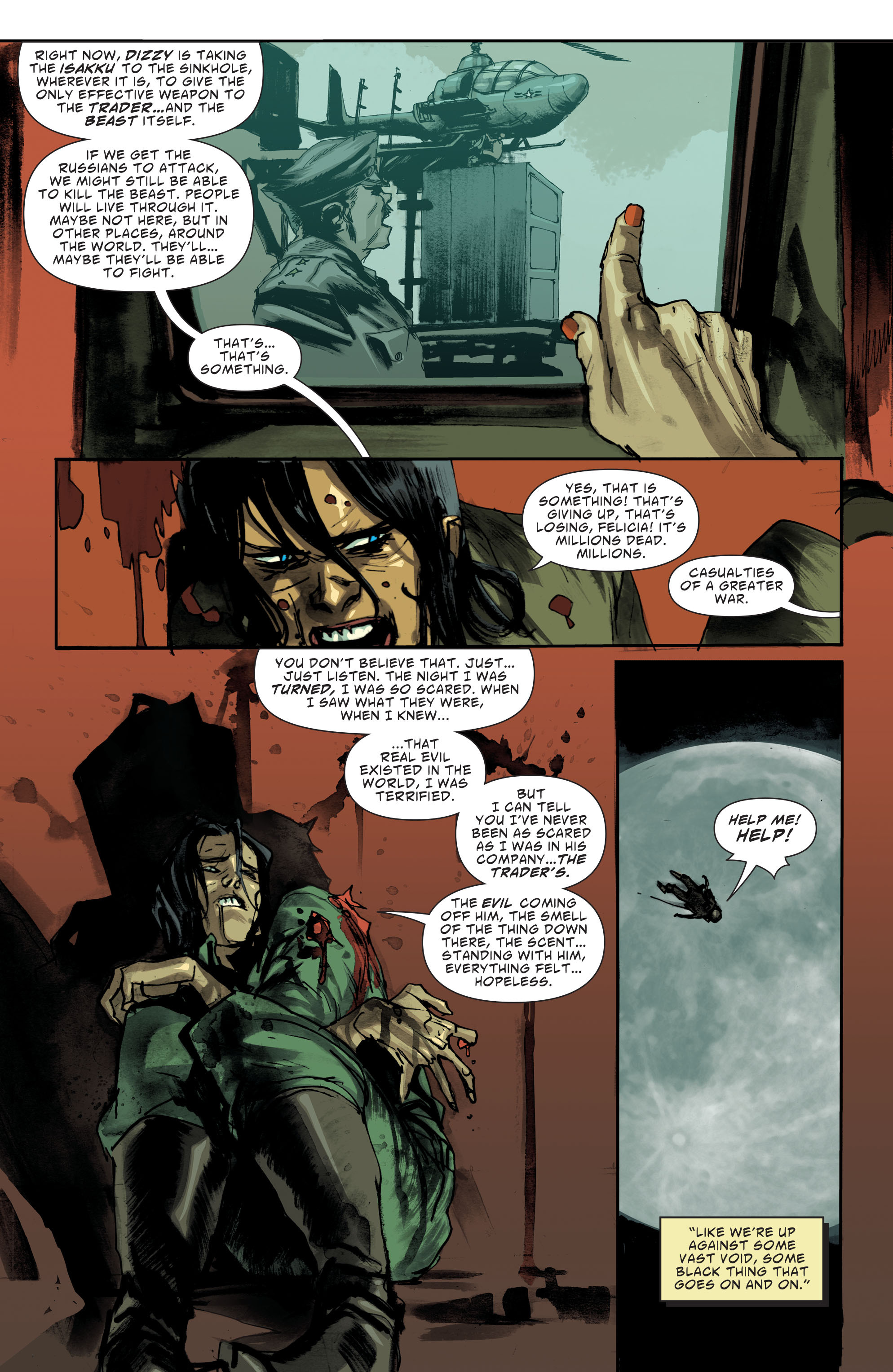 Read online American Vampire: Second Cycle comic -  Issue #10 - 12
