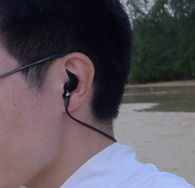Jaybird Freedom Wireless F5 - Carbon under-ears