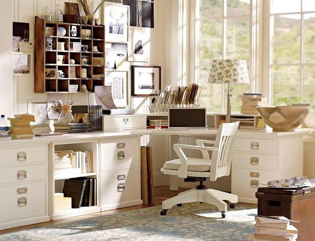 best buy white wood office desk furniture Pottery Barn for sale online