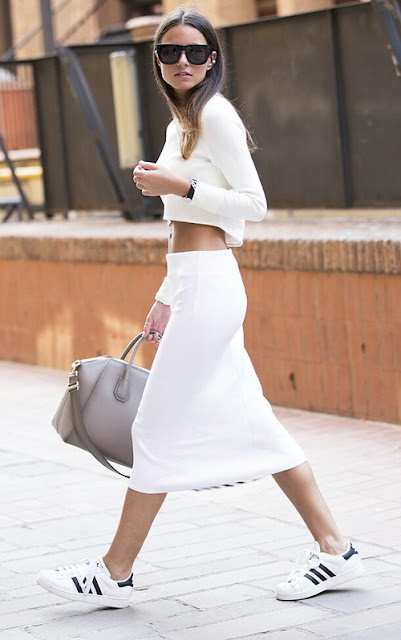 outfit sneakers bianche come abbinare le snekers bianche abbinamenti sneakers bianche tendenze primavera estate 2016 tendenza sneakers bianche white sneakers outfit how to wear white sneakers how to combine white sneakers ss 2016 trend mariafelicia magno fashion blogger color block by felym fashion blog italiani fashion blogger italiane fashion blogger milano blog di moda blogger italiane blogger italiane di moda