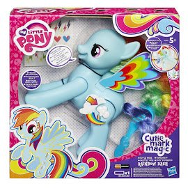 My Little Pony Flip & Whirl Rainbow Dash Brushable Pony
