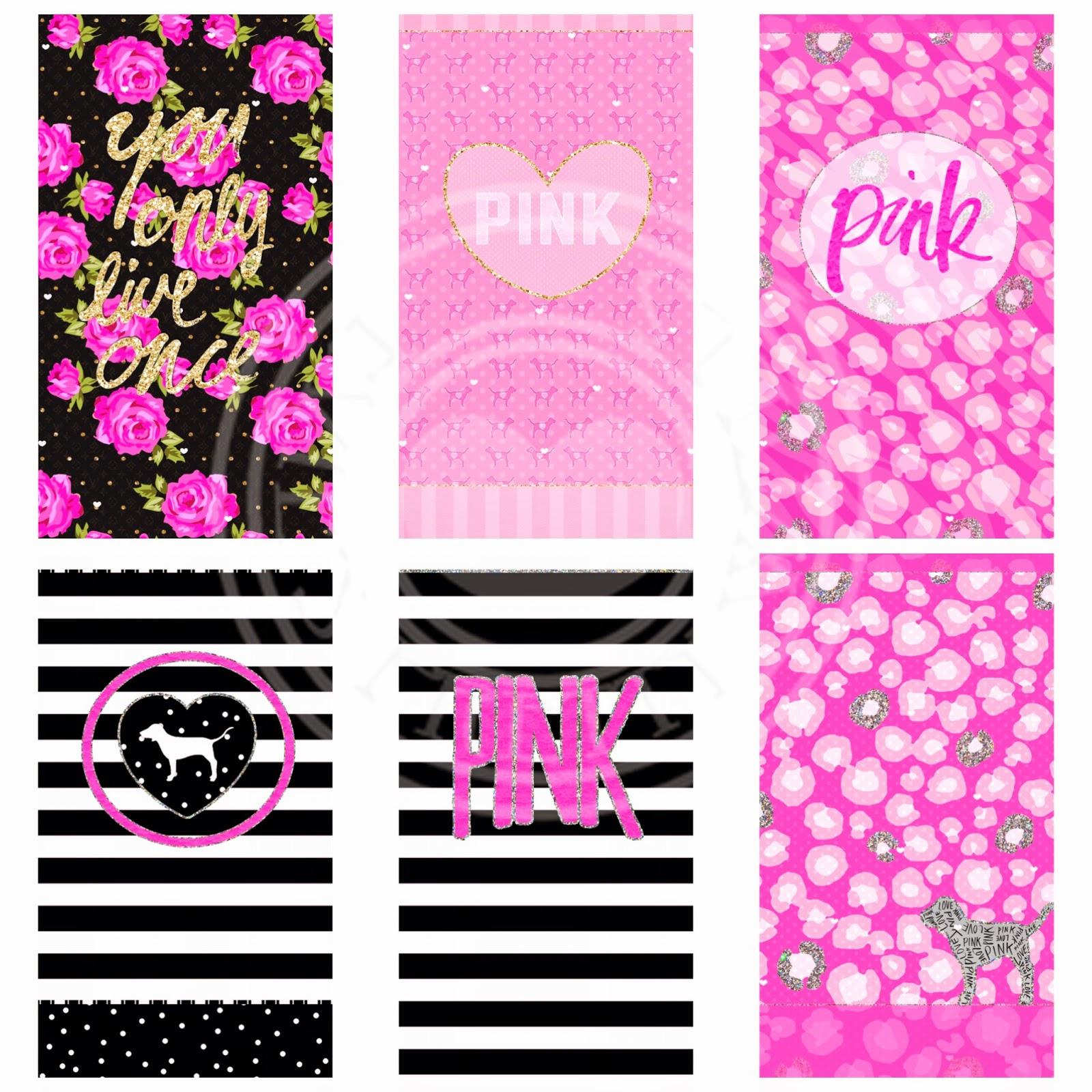 pink nation wallpaper  Pretty Walls: PINK NATION 15 PIECE WALLPAPER SET