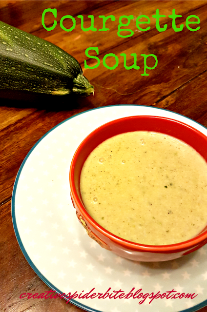 Courgette Soup - a very simple recipe
