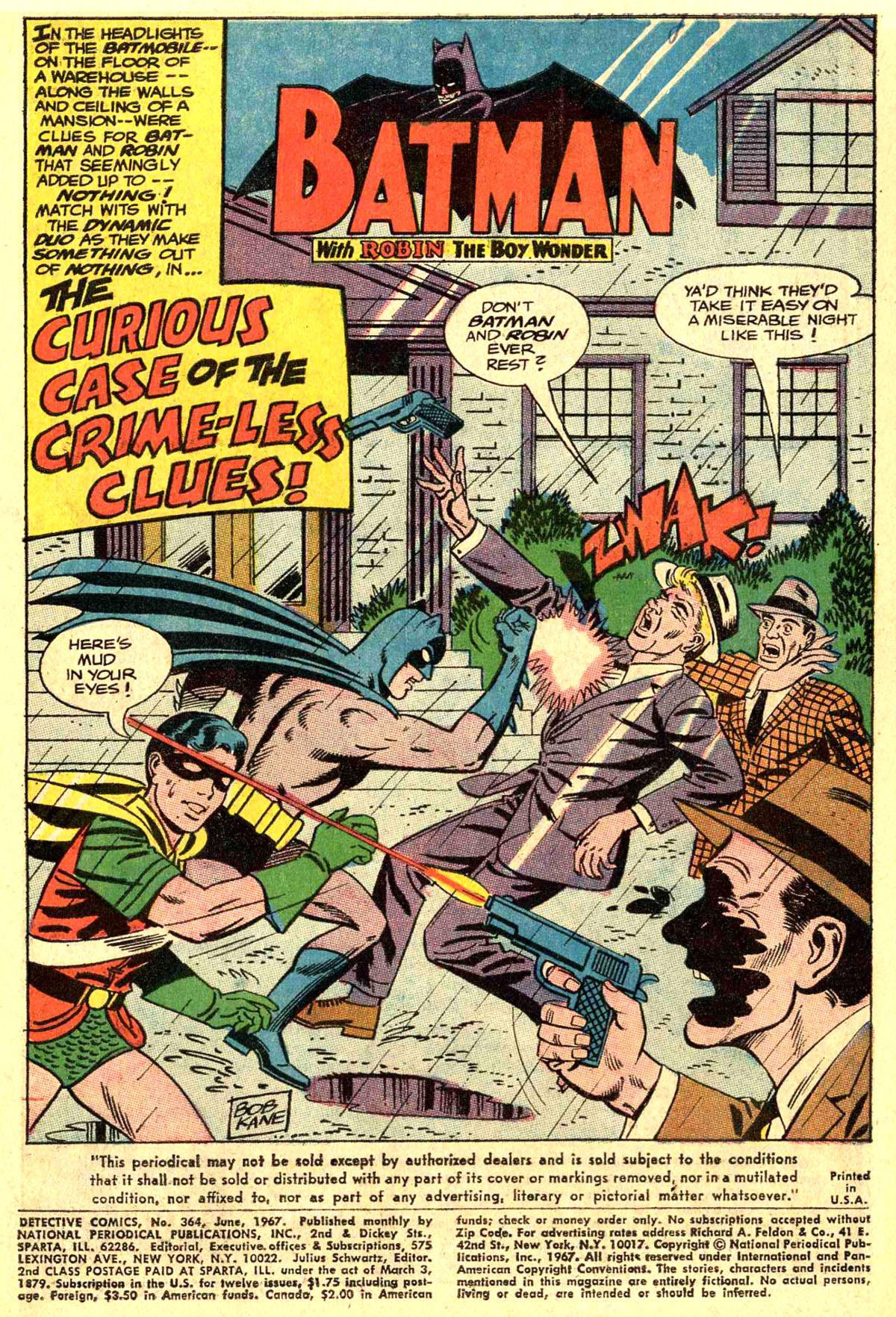 Detective Comics (1937) 364 Page 2