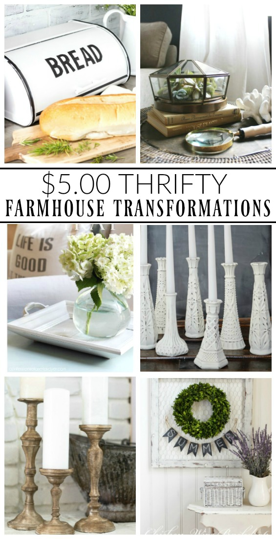 How to transform thrifty finds