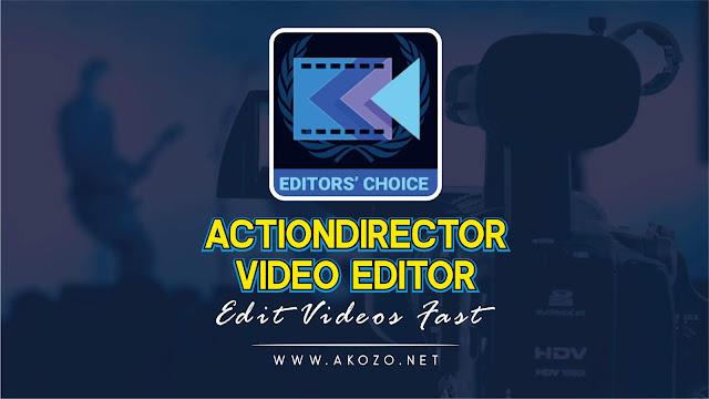 Download ActionDirector Video Editor Apk Unlocked
