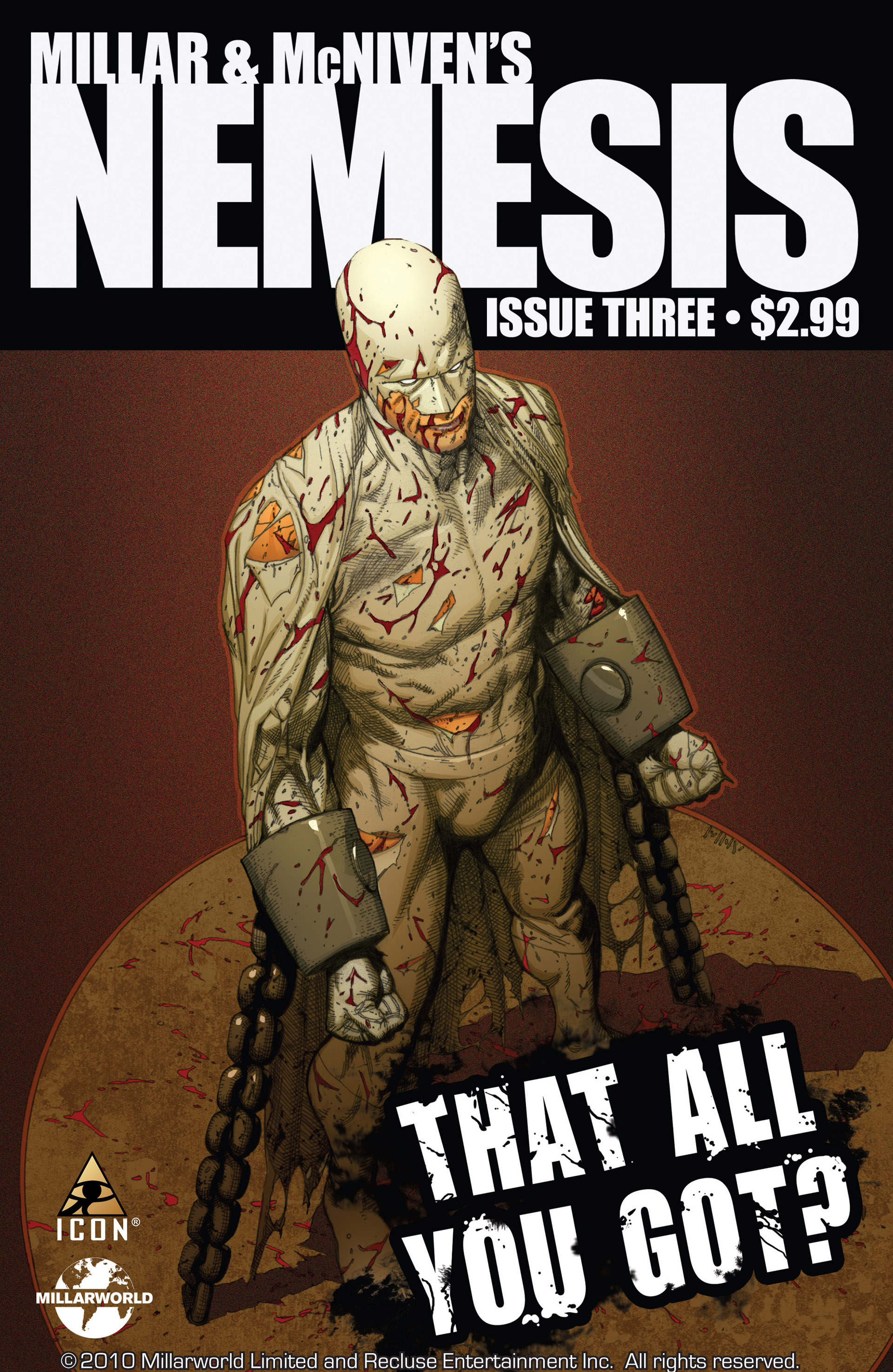 Read online Millar & McNiven's Nemesis comic -  Issue #3 - 1