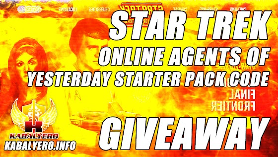 Star Trek Online Agents Of Yesterday Starter Pack Code Giveaway ★ Giving Away One Extra Code