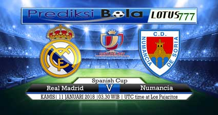 prediksi skor real madrid vs numancia 11 januari 2018