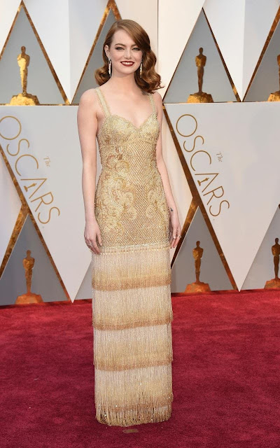 Emma Stone - La La Land Oscars Best Actress