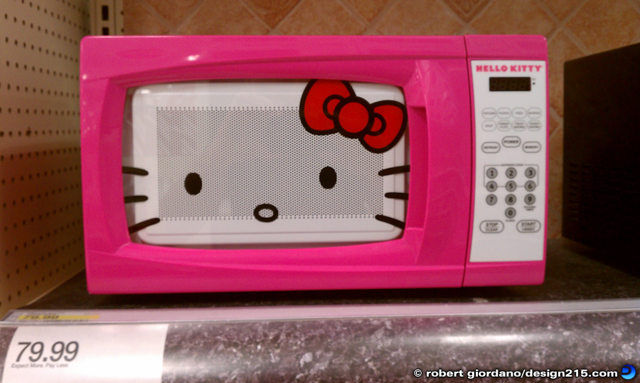 Robert Giordano S Photo Of The Day Hello Kitty Microwave Oven