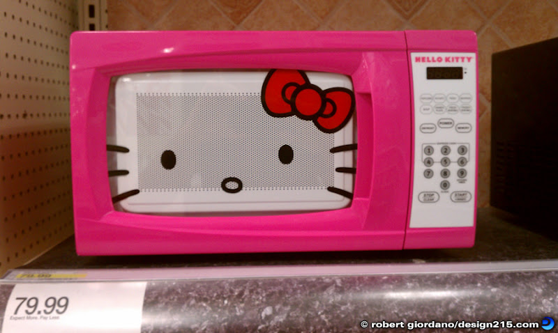 Hello Kitty Microwave Oven at Target, photo Copyright 2011 Robert Giordano