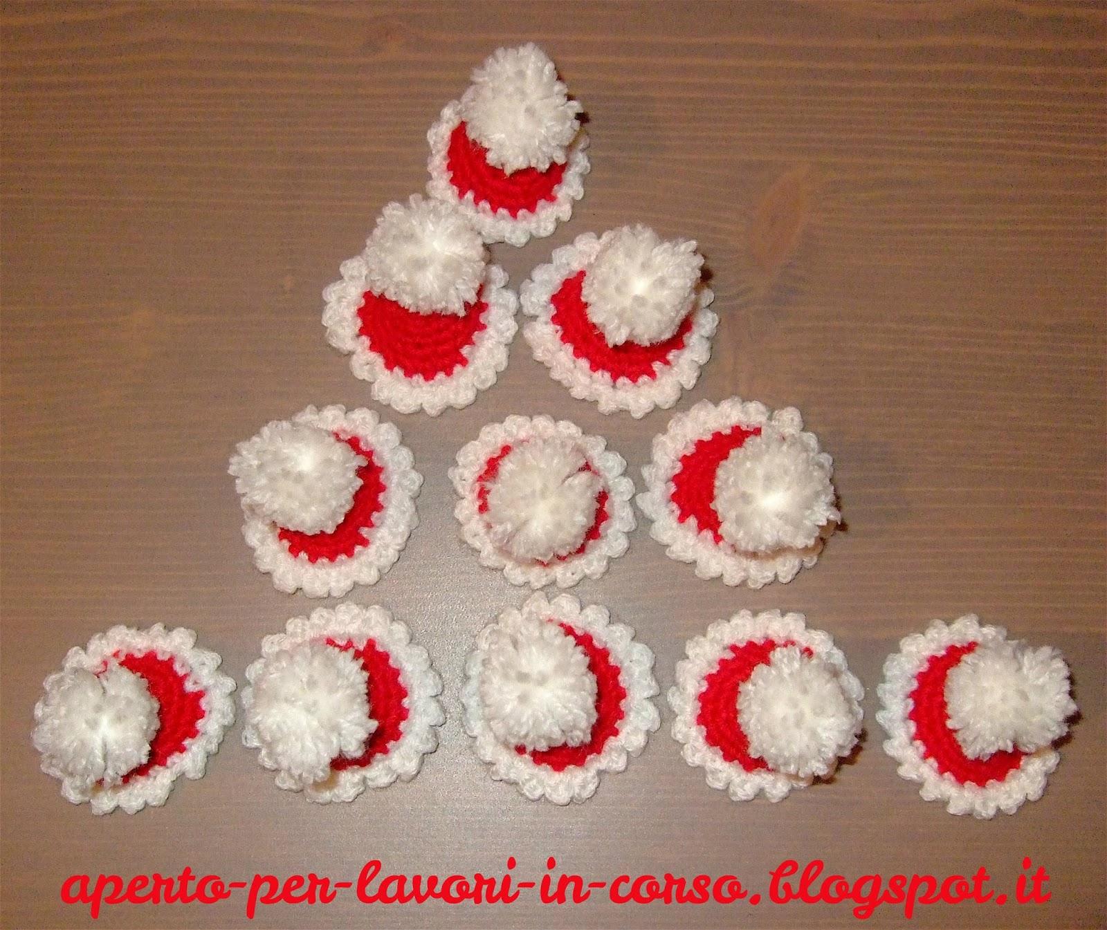 Segnaposto Natalizi Alluncinetto.Il Blog Di Laura Cappellini Di Babbo Natale All Uncinetto