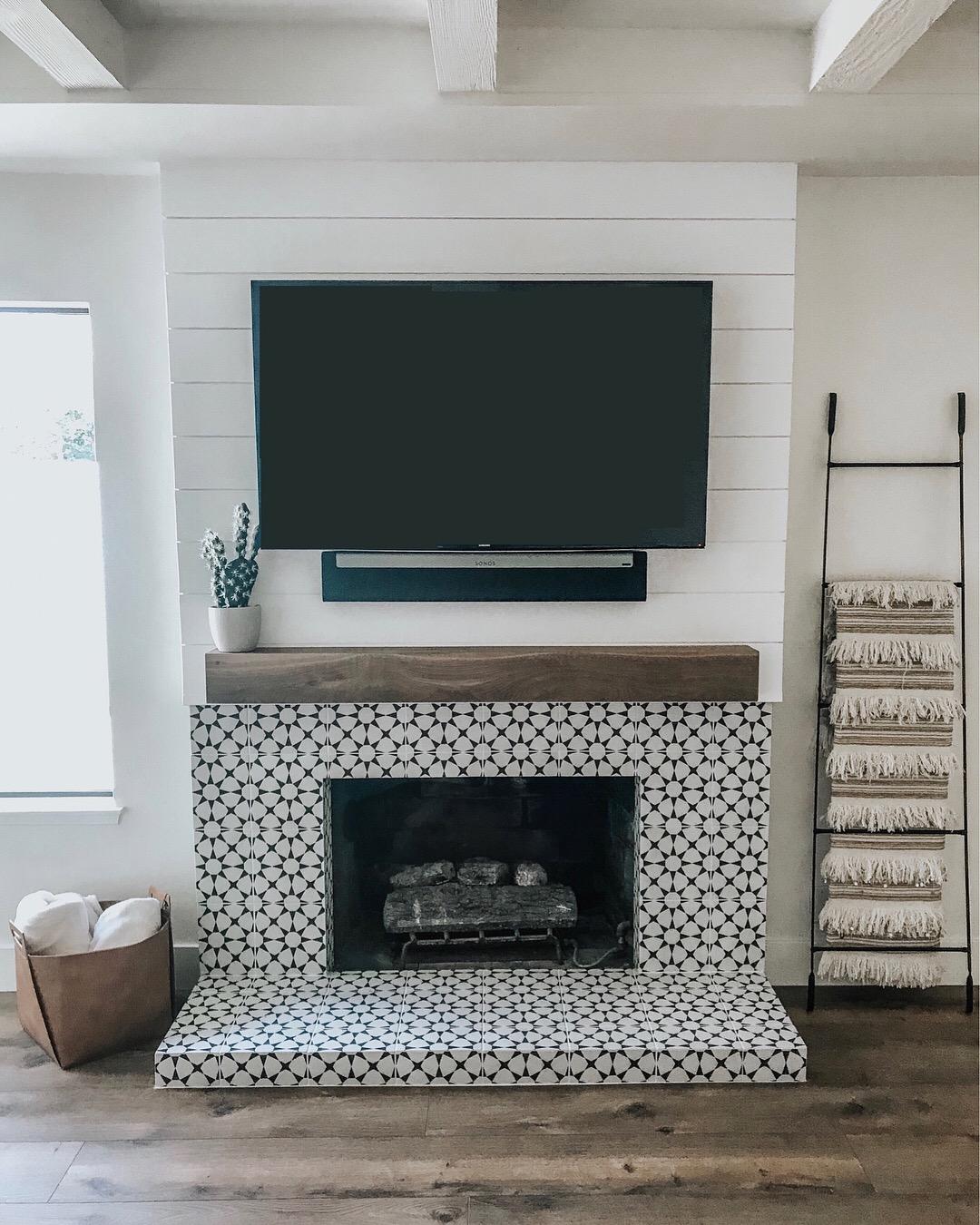 Fireplace Renovation Sloppy Elegance