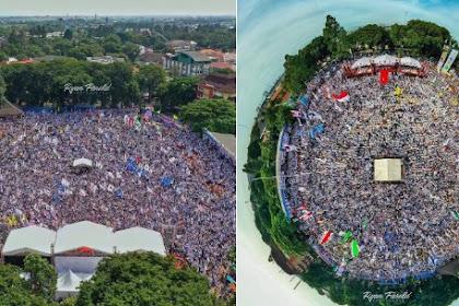 Ribuan Pendukung Prabowo-Sandi Padati Kampanye Terakhir 02 di Tangerang