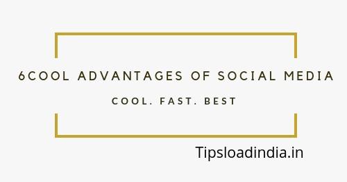 Advantage of social media, cool benefit of social media
