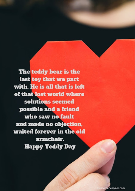 Happy #Teddy Day Quotes for girl friend