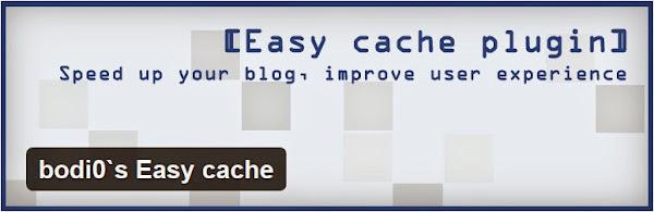 bodi0`s Easy cache plugin for WordPress