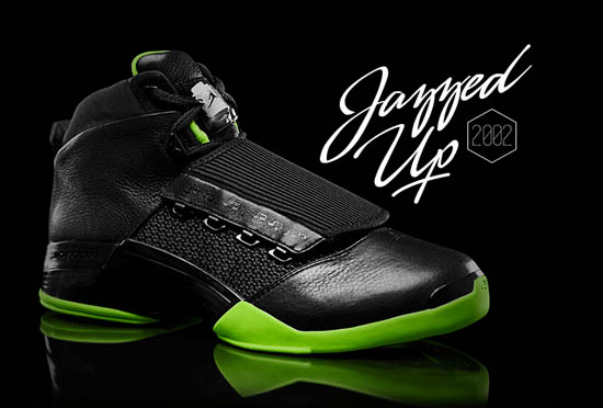 100% authentic fa074 91f37 Originally released in 2002, the Air Jordan XVII became the first Air Jordan  model to come debut in a Washington Wizards inspired colorway.