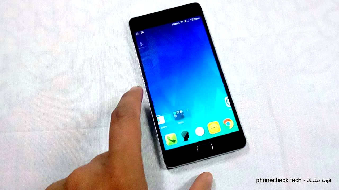 هاتف Lenovo Vibe P1 -الواجهة